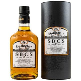 Ballechin 15 y.o. Small Batch Cask Strength 1st Release