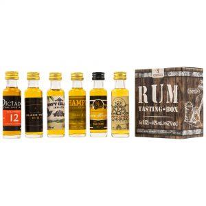 Rum Miniaturen Tasting Box